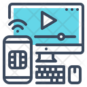 Streaming Service Movie Icon
