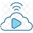 Streaming Video Online Icon