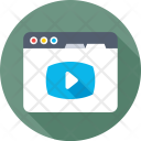 Streaming Media Player Icon
