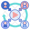 Streaming Community Community Youtuber Icon