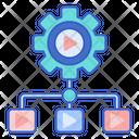 Streaming Platform Platform Structure Video Medium Icon
