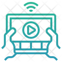 Streaming video Icon