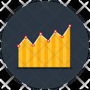Streamline Graph Curve Graph Statistics Icon