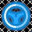 Streering Wheel Automotive Icon