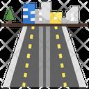 Street Road Way Icon