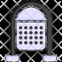 Waste Bin Street Bin Dustbin Icon