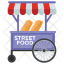 Street Food Food Stall Food Cart Icon