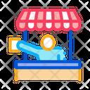 Street Food Seller Icon