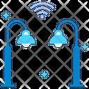 Street Light Streetlight Automation Icon