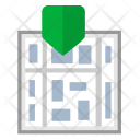 Map Street Navigation Icon