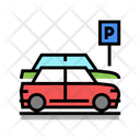Street Parking Car Parking Street Icon