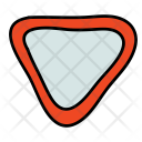 Triangle Street Sign Icon