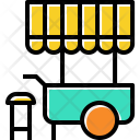 Street Vendor Wheel Icon