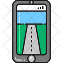 Street View Roads Smartphone Icon