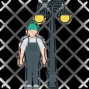 Streetlight Maintenance Icon