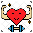 Strength Exercise Strong Icon