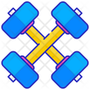 Symbol Strength Hammer Icon