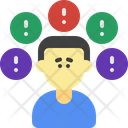 Stress Heaviness Depression Icon