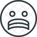 Stressed Emot Emots Icon