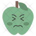 Stressed Apple Icon