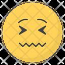 Stressed Emoji Icon