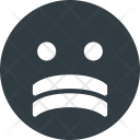 Stressed face Icon