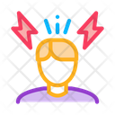 Stress Man Work Icon
