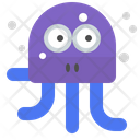 Stressed octopus Icon