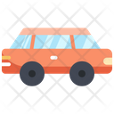 Car Stretch Travel Icon