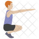 Stretch Muscle Exercise Aerobics Stretch Muscle Icon
