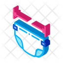 Graphic Sketch Luggage Icon