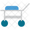 Stretcher Medical Cart Icon