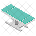 Patient Bed Stretcher Hospital Bed Icon
