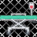 Stretcher Dropper Bed Icon