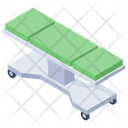 Hospital Bed Stretcher Patient Bed Icon