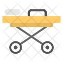 Patient Bed Stretcher Icon