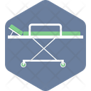 Stretcher Patient Hospital Icon