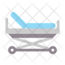 Medical Healthy Stretcher Icon