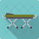 Stretcher Bed Hospital Bed Icon