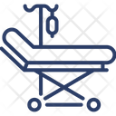 Stretcher Medical Hospital Bed Icon