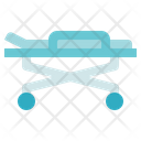 Medical Service Stretcher Hospital Bed Icon