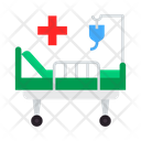 Bed Stretcher Hospital Icon