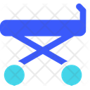 Stretcher Medical Bed Hospital Bed Icon