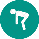 Stretching Human Activitiy Icon