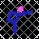 Active Fitness Sport Icon