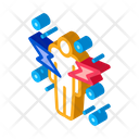 Strikes Human Immunity Icon