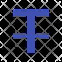 Font Format Strikethrough Icon