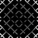 Strikethrough Text Format Icon