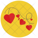 Heart Strings Love Icon