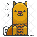 Striped cat Icon